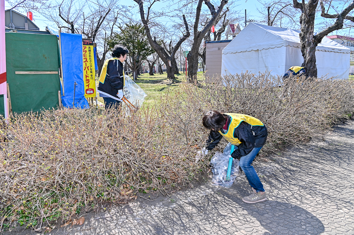 青葉ケ丘公園清掃-10