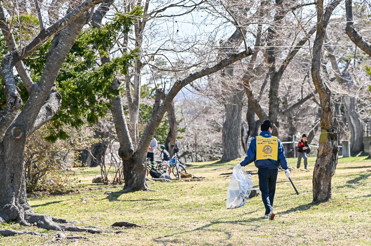 青葉ケ丘公園清掃-11