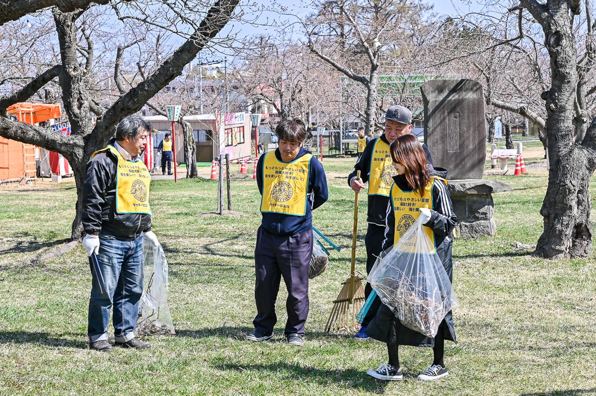 青葉ケ丘公園清掃-13