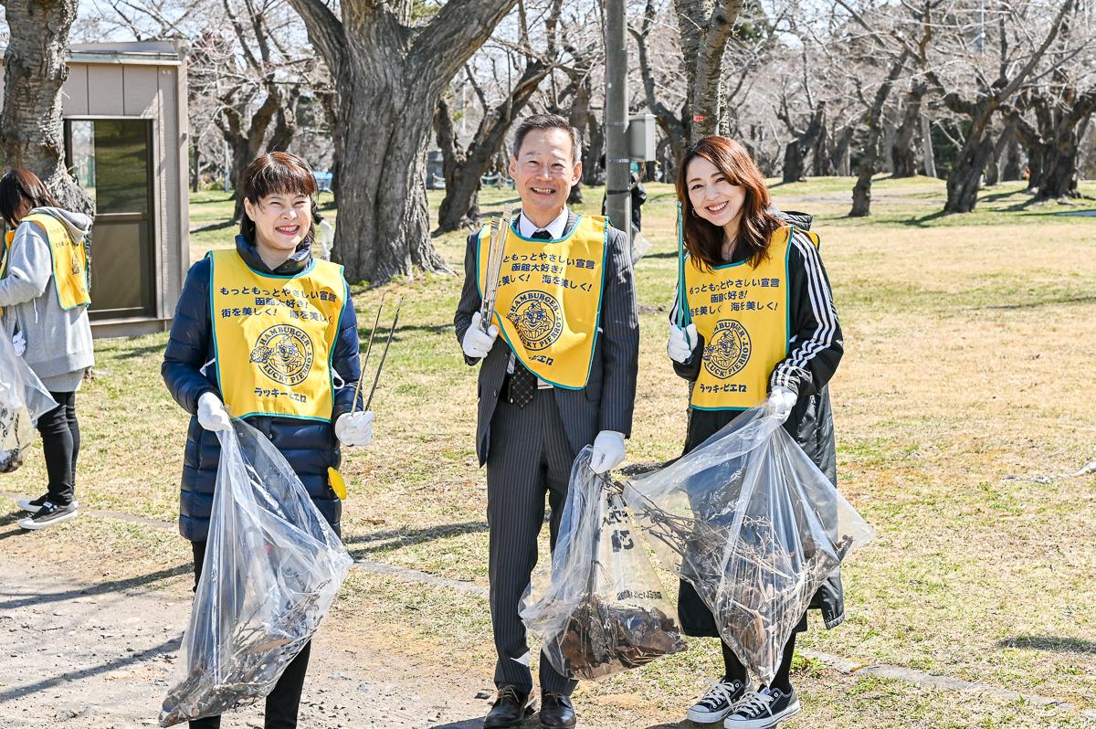 青葉ケ丘公園清掃-14